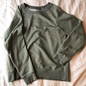 H&M olive sweatshirt